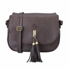 Túi đeo chéo thời trang nữ LATA HN29 (Nâu)