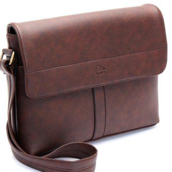 Túi đeo chéo TN00 (Da nâu)