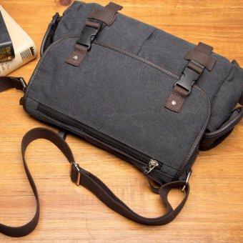 Túi Đeo Chéo Vải Bố 4U Tiện Dụng VN292D (Đen)