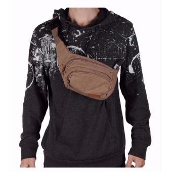 Túi đeo Hông màu nâu - TX24 - 5