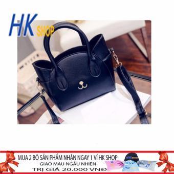 Túi Thuyền Mèo Thời Trang HK SHOP M01 (Đen)- PUM