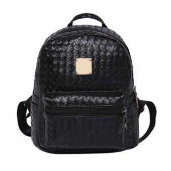 V SHOW Pu Leather Backpack Travel Bag(Black) - intl - 10298649 , OE680FAAA6UJX7VNAMZ-12575148 , 224_OE680FAAA6UJX7VNAMZ-12575148 , 328000 , V-SHOW-Pu-Leather-Backpack-Travel-BagBlack-intl-224_OE680FAAA6UJX7VNAMZ-12575148 , lazada.vn , V SHOW Pu Leather Backpack Travel Bag(Black) - intl