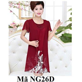 FA040FAAA2UA7YVNAMZ-4893970 - Váy, đầm cho người trung niên, người lớn tuổi NG26D
