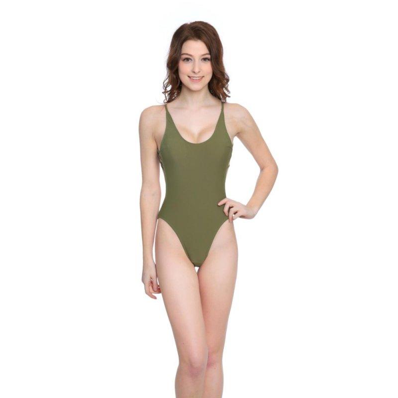 Nơi bán Venus queen Womens Cut Out Vintage Push-Up Bra Sexy Plus Size High Waist Summer Bikini Swimsuit Swimwear Bathing Beachwear - intl