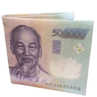 Ví Nam in hình tờ tiền 500 VNĐ