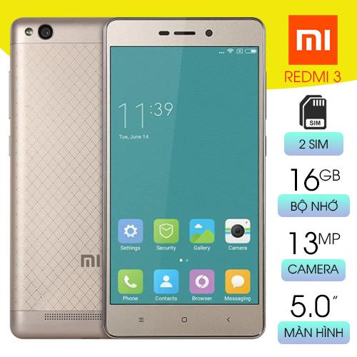 Điện thoại giá rẻ cấu hình cao Xiaomi Redmi 3 Ram 2GB bộ nhớ 16GB