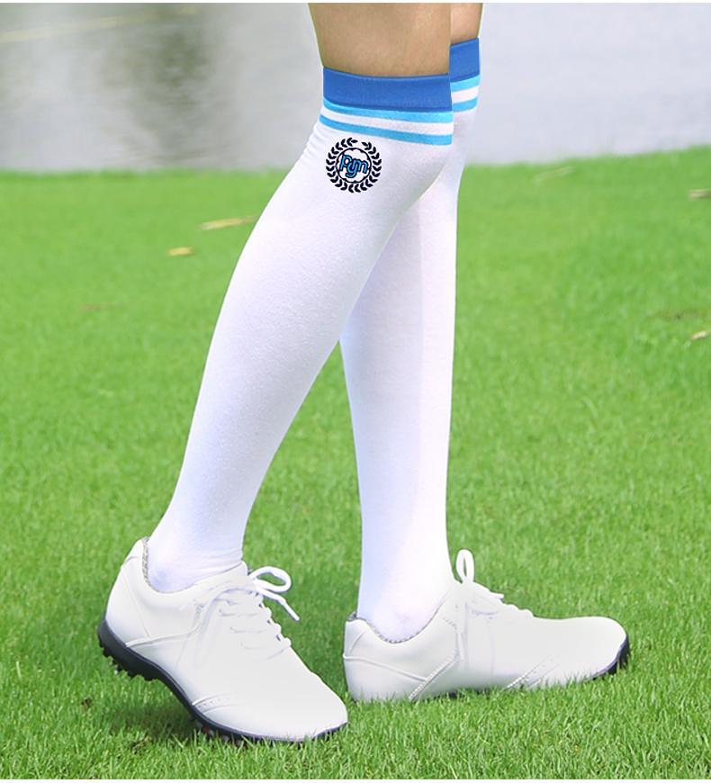 PGM Golf Trang Phục Thể Thao Quần Áo Nữ Vớ Dài Cao Tất Thể Thao Bóng Chày Qua Đầu Gối Vớ Đàn Hồi Bít Tất