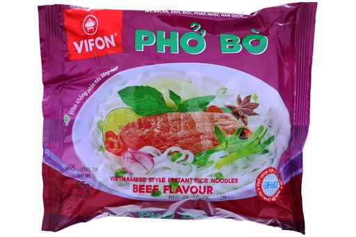 Phở Bò,Gà VIFON 65g/Gói (Phở Bò)