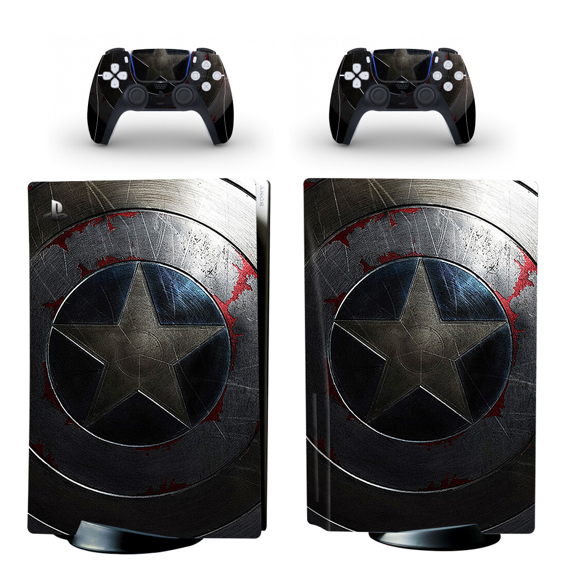 Film PS5 Standard Disc Skin Sticker Decal Cover for PlayStation 5 Console & Controller PS5 Skin Sticker Vinyl