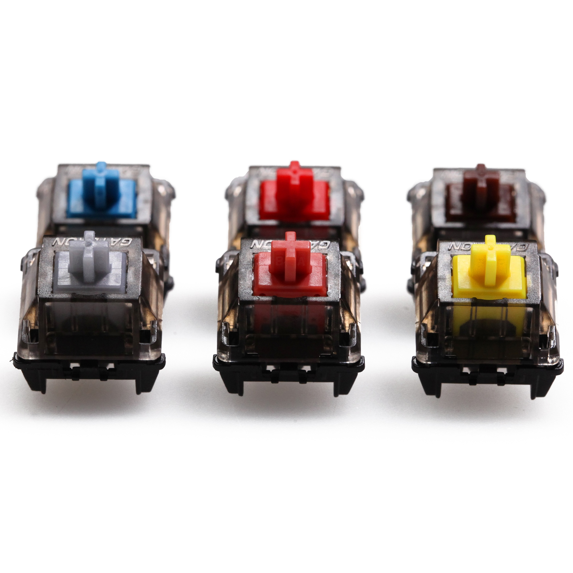 Cute keyboard cap  Gateron CAP Black Crystal V2 Switch 3pin SMD RGB mx stem switch for mechanical keyboard pre lubed Brown Yellow Silent Red Silver