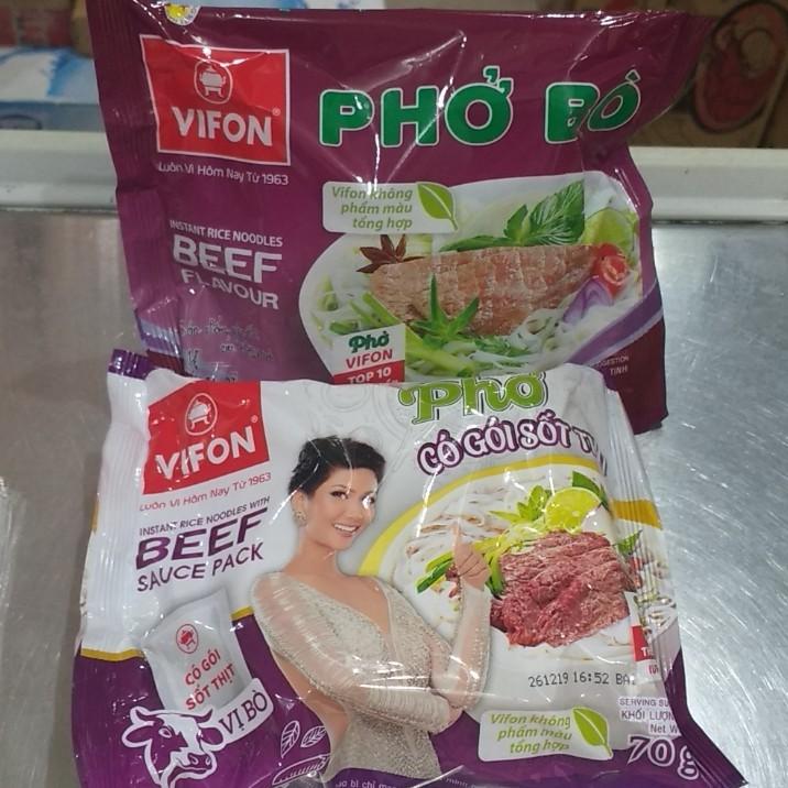 Phở Vifon set 5 gói(phở có sốt thịt 70g)