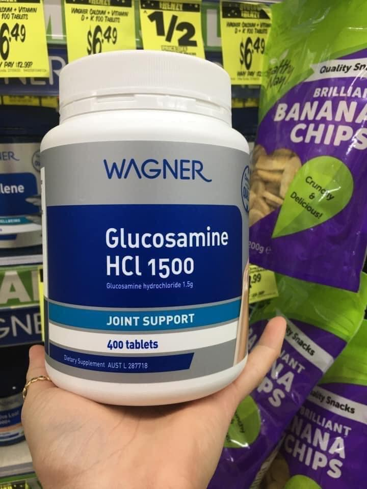 bổ khớp Wagner Glucosamin HCL 1500 Joint Support