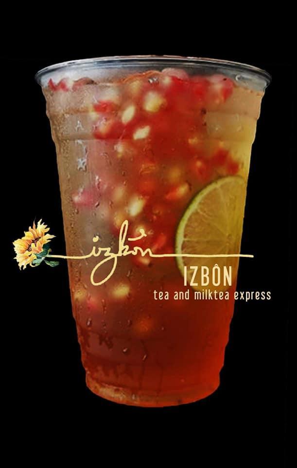 HCM - Izbôn Tea - Evoucher Free Topping (Trừ Hạt Đác)