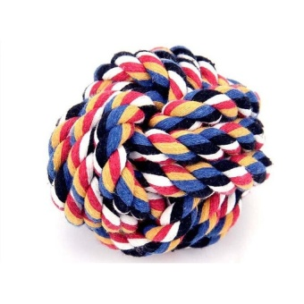 2pcs Multicolor Cotton Rope Woven Ball Pet Toy for Molar YM-BO4219 - intl - 8610677 , OE680OTAA8YL5IVNAMZ-17607119 , 224_OE680OTAA8YL5IVNAMZ-17607119 , 573300 , 2pcs-Multicolor-Cotton-Rope-Woven-Ball-Pet-Toy-for-Molar-YM-BO4219-intl-224_OE680OTAA8YL5IVNAMZ-17607119 , lazada.vn , 2pcs Multicolor Cotton Rope Woven Ball Pet Toy