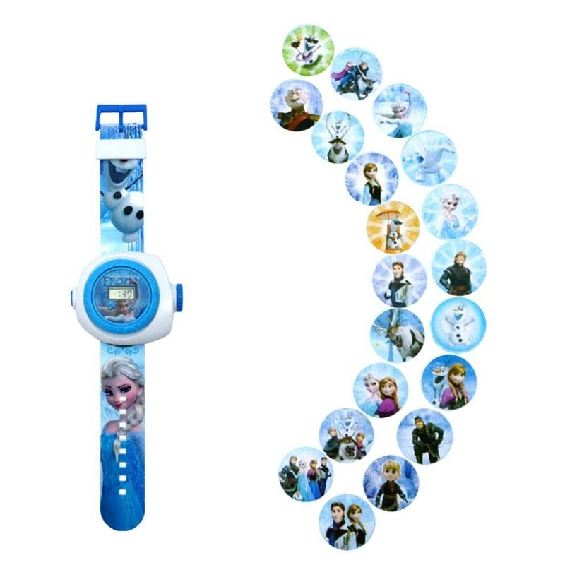 3D Cartoon Projection Watches Doraemon Ultraman Batman Toys Kids Children - intl bán chạy