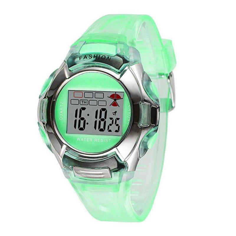 Amart Fashion PVC Band Student Electronic Watch - intl bán chạy