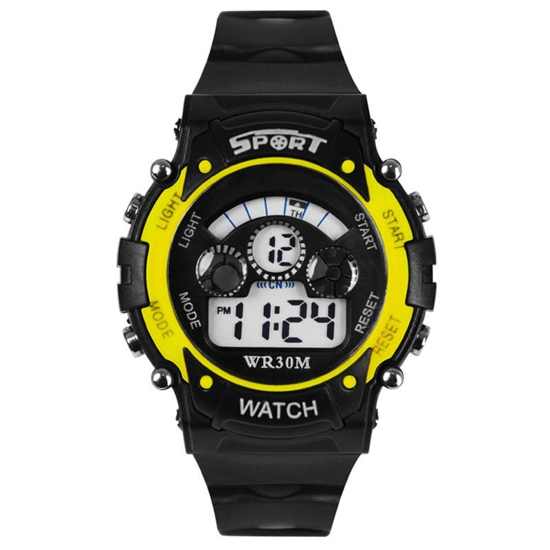 Amart Waterproof Watch Children Boy Digital LED Quartz Alarm Date Sports Wristwatches - intl bán chạy