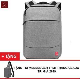 Balo Laptop Thời Trang Nam Zapas BLC008 + Tặng Túi MessengerGlado DCG025