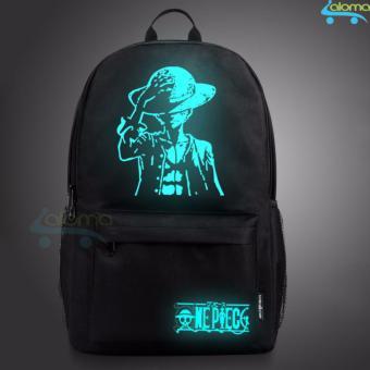 Balo phát quang đựng laptop, tablet siêu rộng SENKEY One Piece Luffy