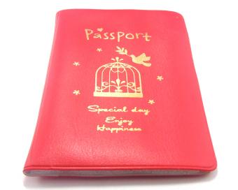 Bao đựng hộ chiếu châu âu Raica MHB117 (Đỏ)