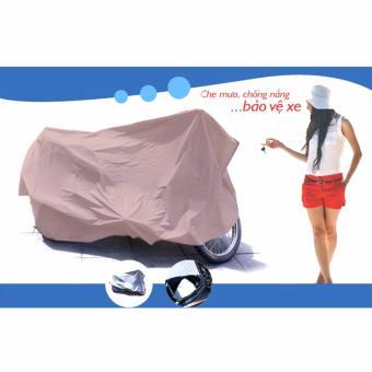 Bạt phủ xe máy chống nắng mưa (Màu ngẫu nhiên) - 5