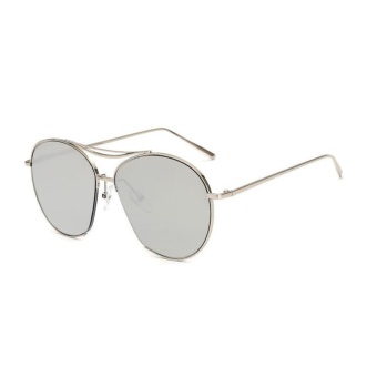 Bảng Báo Giá Big Large Frame Box Personalized Ocean Sea Lens Sunglasses(Silver)-one size – intl   UNIQUE AMANDA
