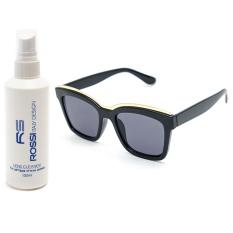 Nơi Bán Bộ 1 mắt kính nữ và 1 chai nước rửa kính PAN CT2063 (Đen)  Cong Ty TNHH MTV PAN
