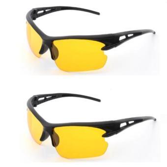 Bộ 2 Mắt kính phân cực nhìn xuyên đêm thời trang