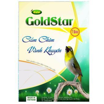 Bộ 3 gói cám chim khuyên GoldStar - Thi Đấu gói 200gram