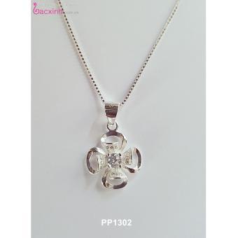 Bộ dây chuyền liền mặt trang sức bạc Ý S925 Bạc Xinh - Cỏ bốn lá may mắn PP1302 - 8048256 , BA222OTAA1YUGLVNAMZ-3343453 , 224_BA222OTAA1YUGLVNAMZ-3343453 , 478000 , Bo-day-chuyen-lien-mat-trang-suc-bac-Y-S925-Bac-Xinh-Co-bon-la-may-man-PP1302-224_BA222OTAA1YUGLVNAMZ-3343453 , lazada.vn , Bộ dây chuyền liền mặt trang sức bạc Ý S925