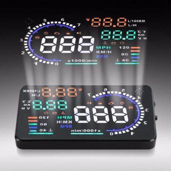 Bộ hiển thị tốc độ trên kính lái HUD A8 dành cho xe hơi