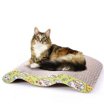 BODHI Durable Scratching Pad for Cat Pet Wavy Board Bed Scratcher Post Pole Catnip Toy - intl - 10221414 , BO147OTAA7ORM1VNAMZ-14429070 , 224_BO147OTAA7ORM1VNAMZ-14429070 , 786000 , BODHI-Durable-Scratching-Pad-for-Cat-Pet-Wavy-Board-Bed-Scratcher-Post-Pole-Catnip-Toy-intl-224_BO147OTAA7ORM1VNAMZ-14429070 , lazada.vn , BODHI Durable Scratching
