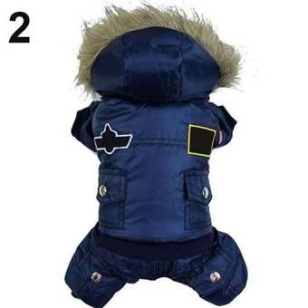BODHI Puppy Dog Cat Winter Warm Patches Hooded Button Down JacketCoat Pet Clothes 5XL (Blue) - intl - 10221001 , BO147OTAA7H2UBVNAMZ-13851123 , 224_BO147OTAA7H2UBVNAMZ-13851123 , 1624000 , BODHI-Puppy-Dog-Cat-Winter-Warm-Patches-Hooded-Button-Down-JacketCoat-Pet-Clothes-5XL-Blue-intl-224_BO147OTAA7H2UBVNAMZ-13851123 , lazada.vn , BODHI Puppy Dog Cat