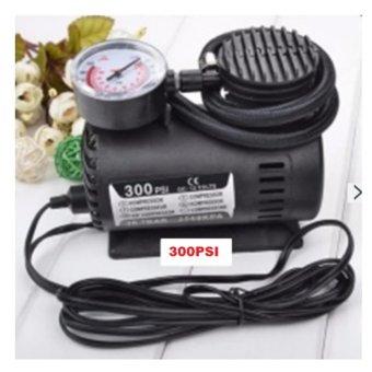 Bơm lốp xe ô tô chuyên dụng 300PSI- 12V (Đen)