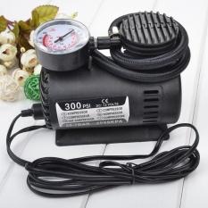 Bơm lốp xe ô tô chuyên dụng 300PSI- 12V HQ Plaza T085I (Đen)