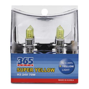 Bóng đèn phá sương 365-Auto H3 Super Yellow 24V (Vàng)