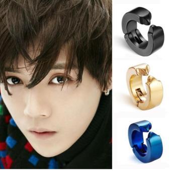 Chỗ bán Bông tai Titan khóa còng EXO phong cách Hàn KPOP024