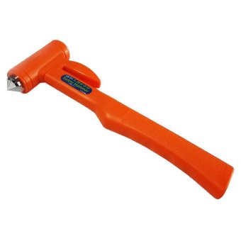 Búa đập kiếng và cắt dây Safety Hammer (Cam đỏ)
