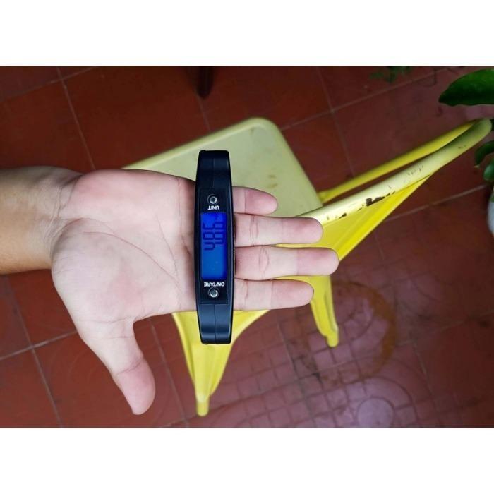 Cân điện tử cầm tay cho bà nội chợ Electronic Luggage Scale - Cân từ 10g-50Kg