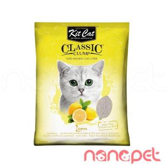 Cát Vệ Sinh Cho Mèo KitCat Hương ChanhTúi 10L