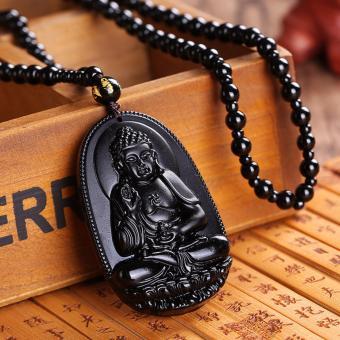 Chuỗi hạt đeo cổ mặt Phật A Di Đà - Phật bản mệnh người tuổi Tuất,Hợi