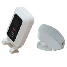 Chuông báo khách tự động không dây KONO KN-M7 (Trắng)