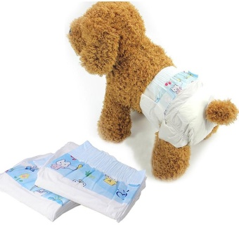 ... Cocotina Comfy Pet Disposable Dog Cat Puppy Kitten Cotton Diapers Nappy Pads (Size M) ...