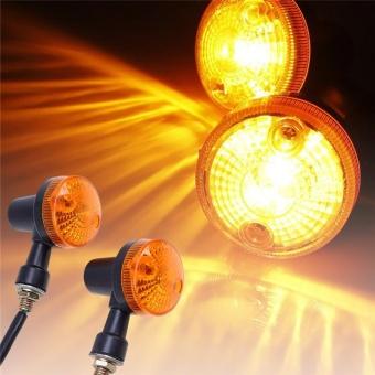 Cocotina Motorcycle Motor Turn Light Signal Indicator lamp Amber - intl