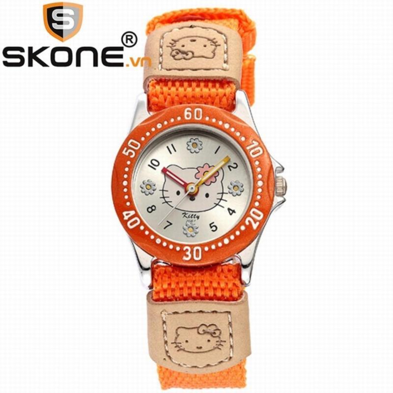 Combo 02 đồng hồ bé gái SKONE - dây dù 2667-2-D bán chạy