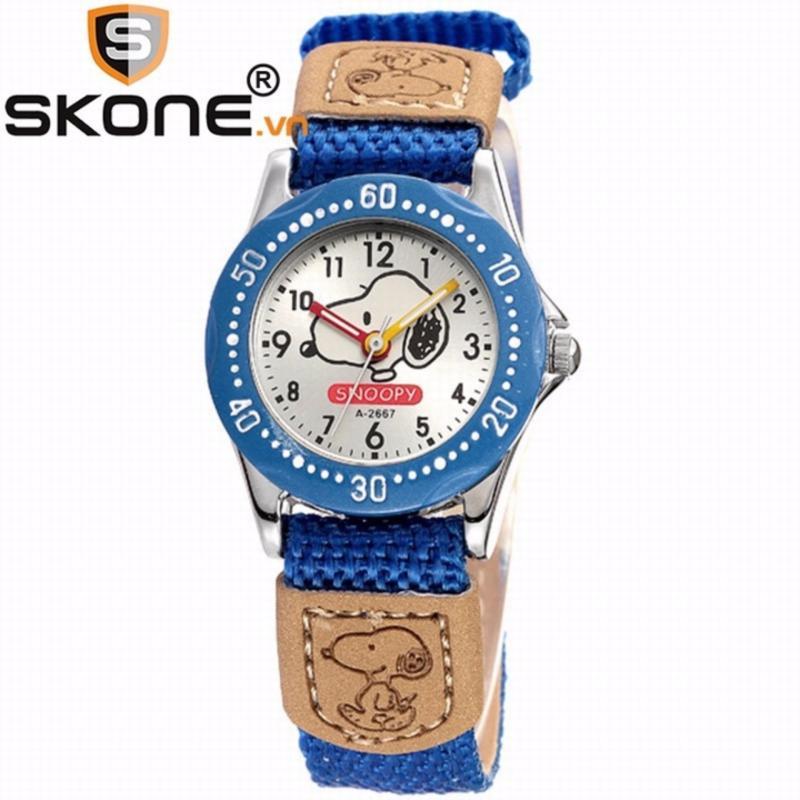 Combo 02 đồng hồ bé gái SKONE - dây dù 2667-2-H bán chạy