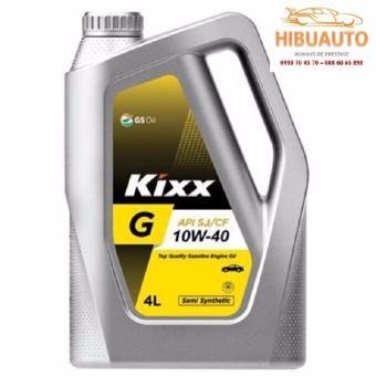 Hình thu nhỏ COMBO Dầu nhờn Kixx G 10W40Semi - 4L + Lọc Nhớt Dòng Xe Huyndai