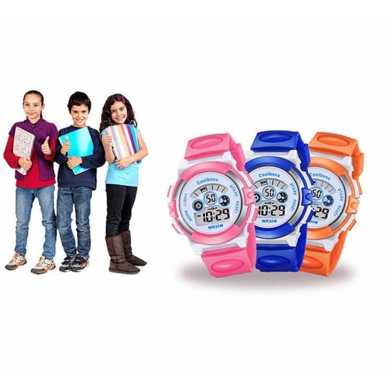 Nơi bán Combo đồng hồ thế thao trẻ em (Màu hồng và xanh)