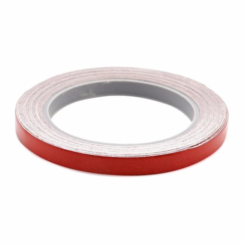 Cuộn 6 mét Decal phản quang dán viền thân xe (đỏ)