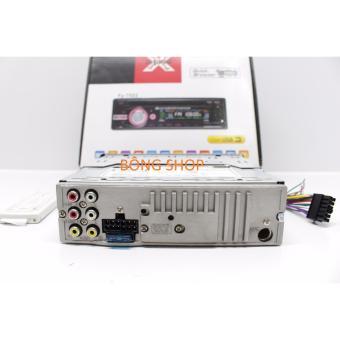 Đầu đĩa ô tô DVD + radio + cắm USB + AUX trên ô tô F2 ( Đen )